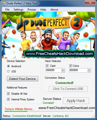 Dude Perfect 2 Hack Tool Cash & Coins Adder Cheats