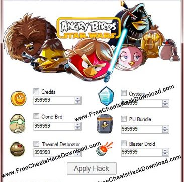 Angry Birds Star Wars Cheats Updated