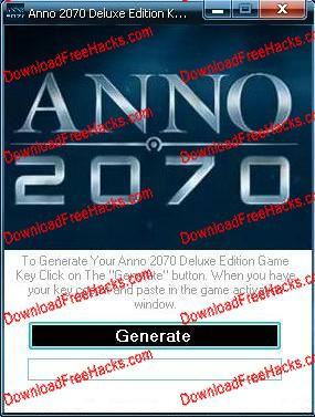 Anno 2070 Deluxe Edition Crack and Activation Key Generator