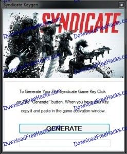 Syndicate Crack and Key Generator Tool