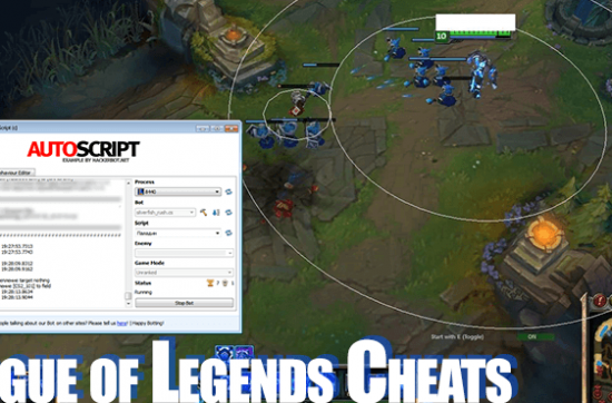 League of Legends Hacks, Bots and other Cheats