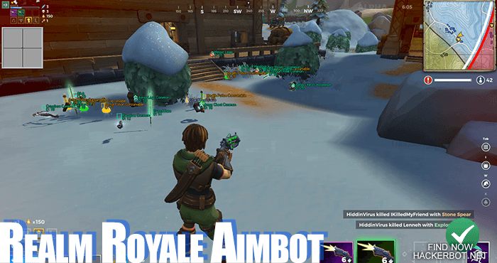 Realm Royale Hack, Aimbot, Wallhack