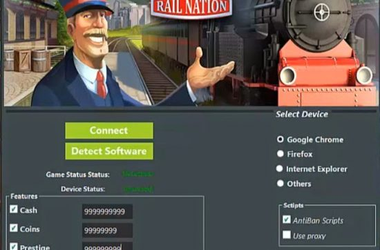 Rail Nation Hack Tool cash,unlimited coins