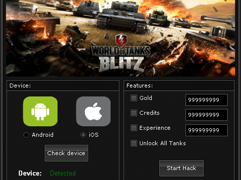 World of Tanks Blitz Hack Tool (Android, iOS) unlimited gold