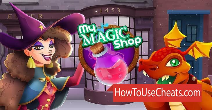 My Magic Shop how to use Cheat Codes and Hack Coins and Diamonds